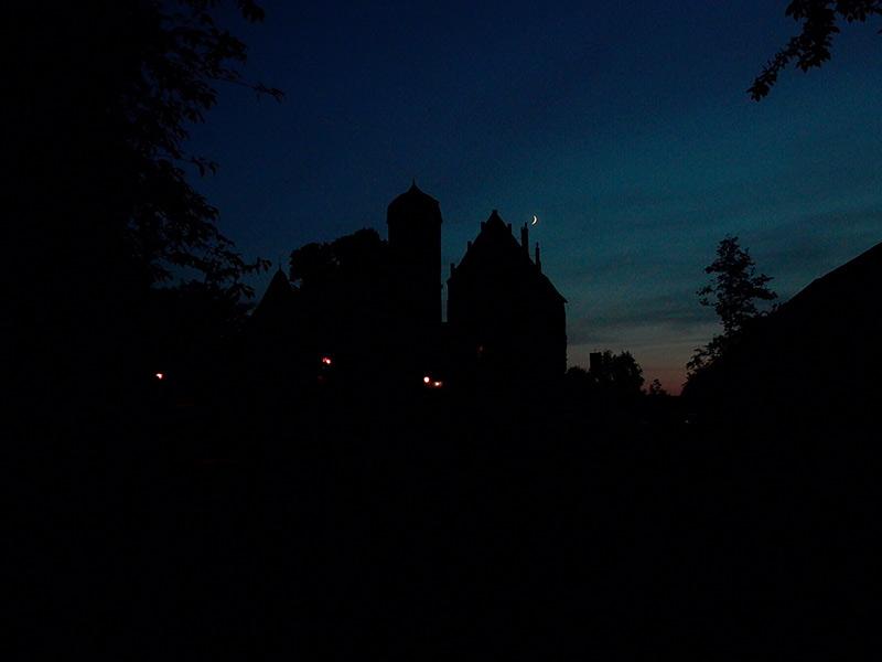 Sternenklare Nacht in Sommersdorf
