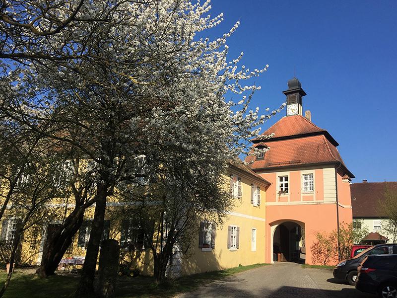 Der Torturm Sommersdorf von Westen gesehen